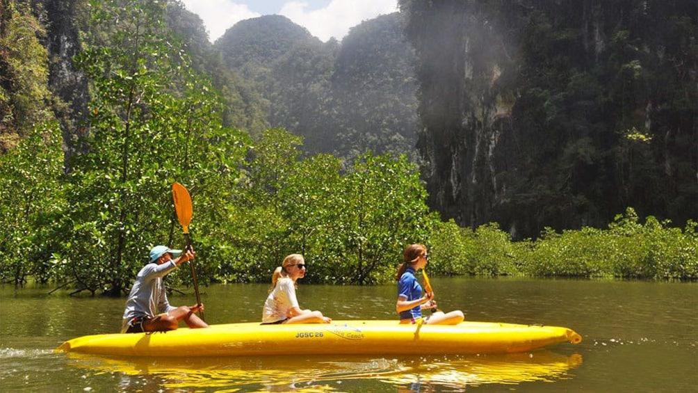 Show item 3 of 5. Group kayaking in Phuket