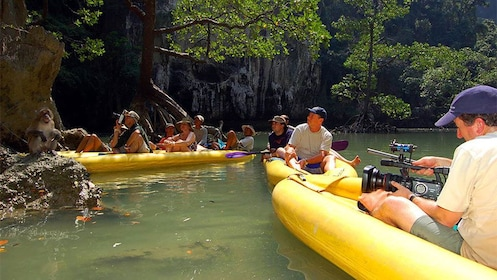 boat tour in Phuket, Thailand