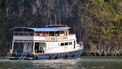 Serene boat cruise of Phuket