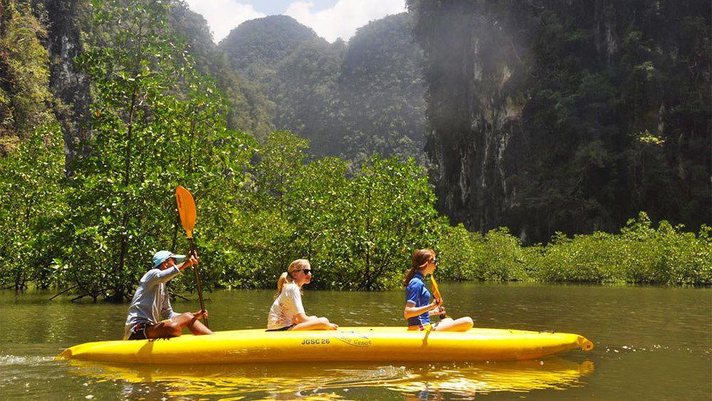 Full-Day Phang Nga Bay Canoe & Speedboat Tour with Lunch