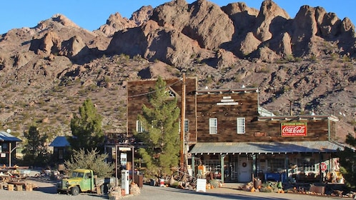 old mining attraction in Las Vegas