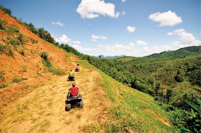 Morning Quad Bike ATV Tour in Phang Nga with Guide