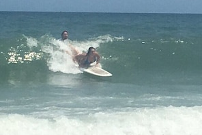 Private Surf Lessons in Wrightsville Beach