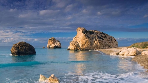 Aphrodite Rock off the coast of Cyprus