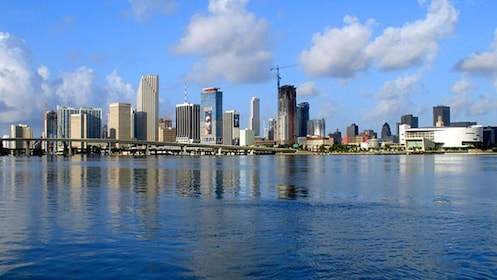 Miami as seen from the water