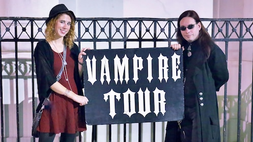 Vampire tour guides in New Orleans