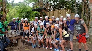 Zip lining Experience
