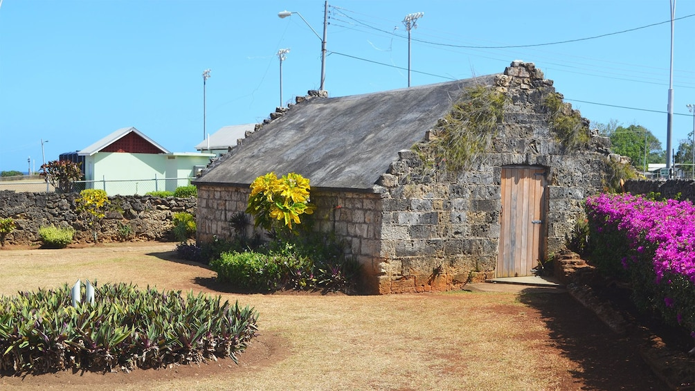 Show item 4 of 7. Historical building in Tobago