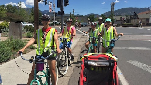 Bicycling group in Flagstaff
