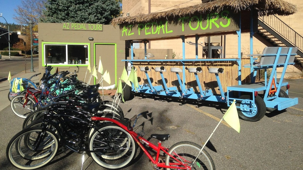 Show item 2 of 8. Bicycle rentals in Flagstaff