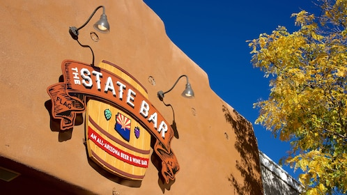 Sign for a bar in Flagstaff