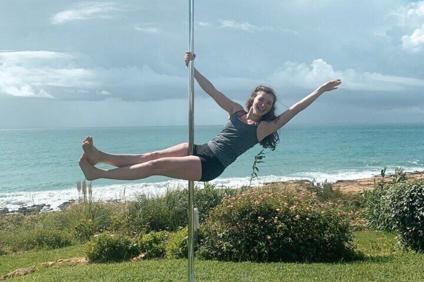Summer Pole Session in Praia da Luz, Algarve