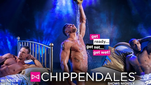 Chippendales advertisement at Rio Hotel