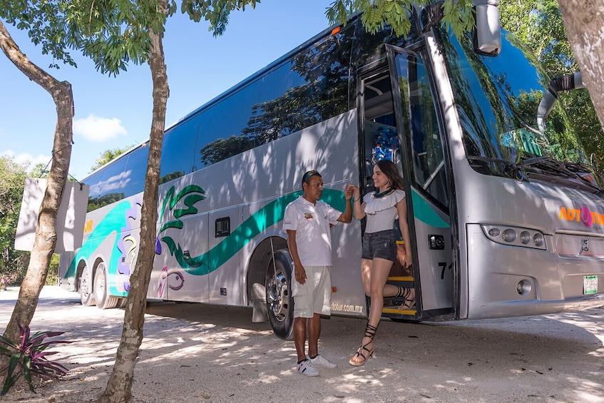 Show item 10 of 10. Day Trip to Tulum & Cenote Dos Ojos