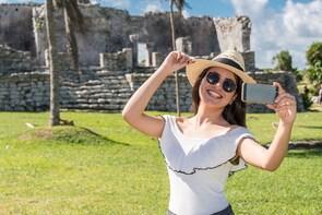 Excursión a Tulum y el cenote Dos Ojos