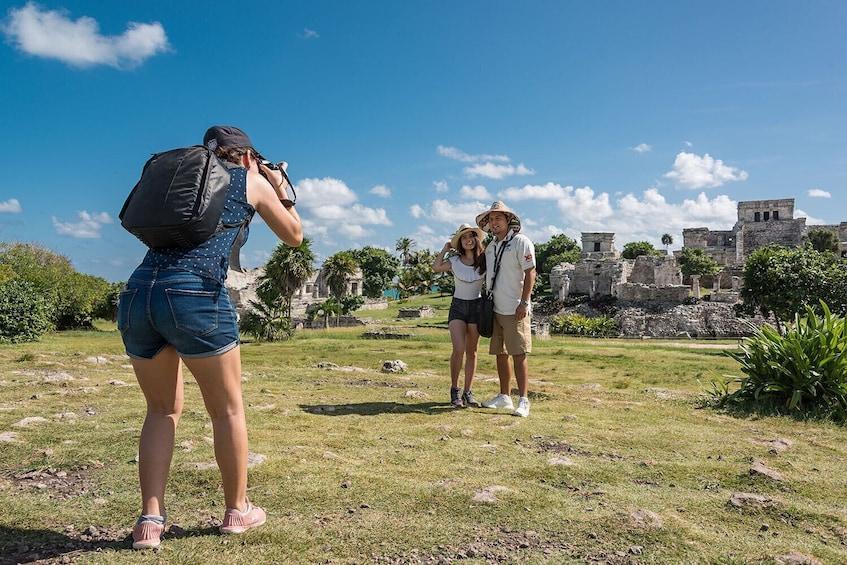 Show item 2 of 10. Day Trip to Tulum & Cenote Dos Ojos