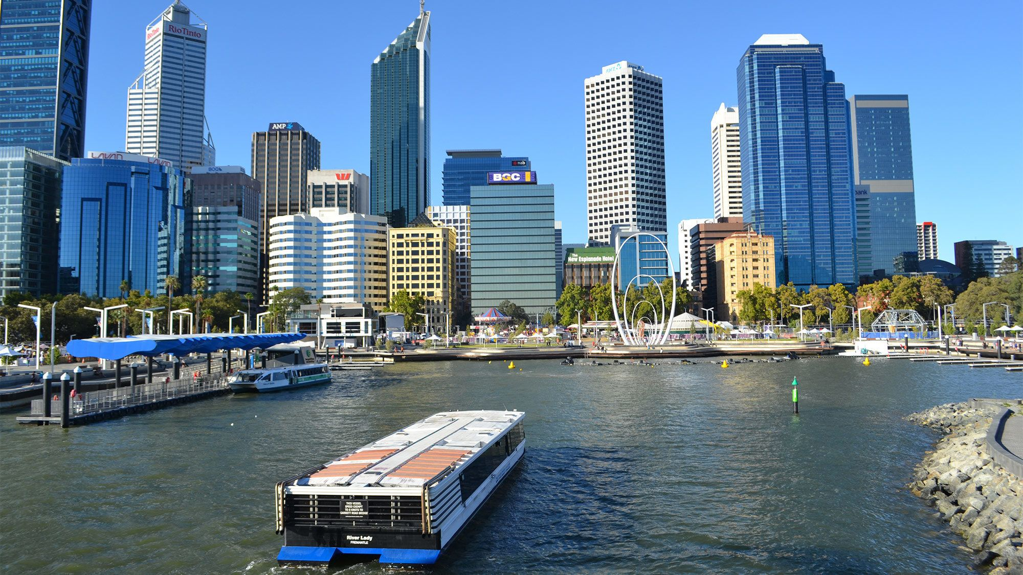 One-Way Cruise from Perth to Fremantle