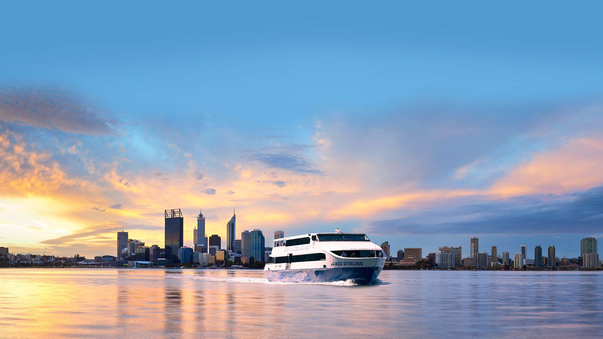 One-Way Cruise from Fremantle to Perth