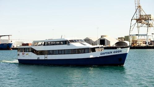 Serene view on the cruise boat in Perth, WA, Australia