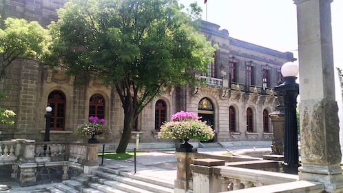 Chapultepec Castle exterior in Mexico City