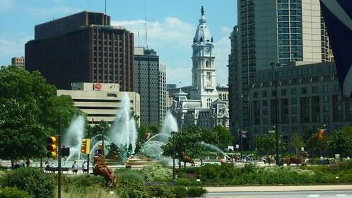 Cityscape in Philadelphia