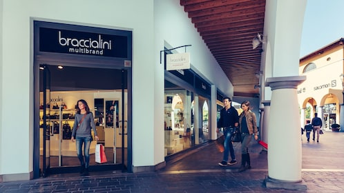 Braccialini store in Outlet mall.