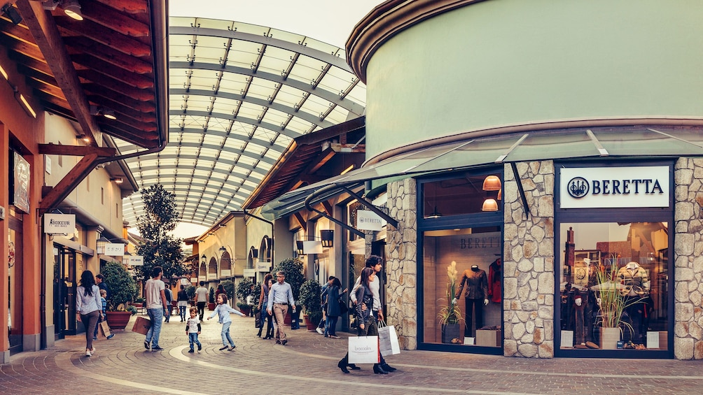 Show item 4 of 6. Shopping mall in Milan
