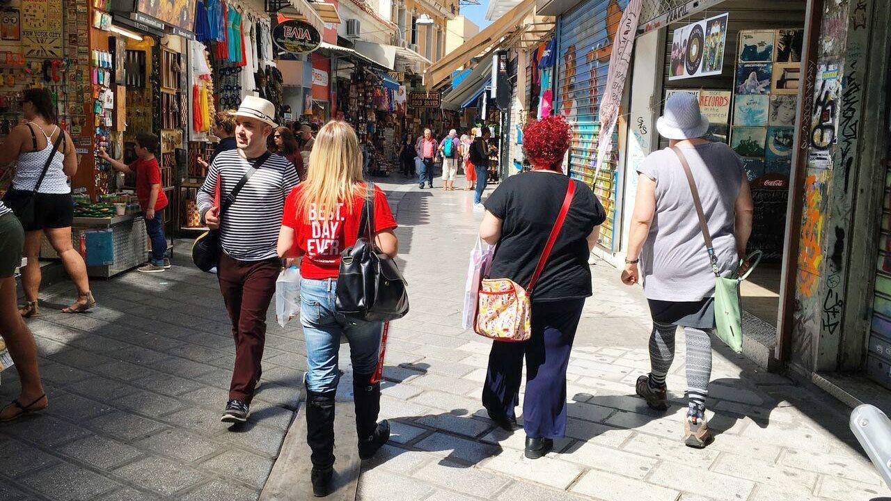 Kulinarischer Rundgang durch Athen in kleiner Gruppe mit Marktbesuch