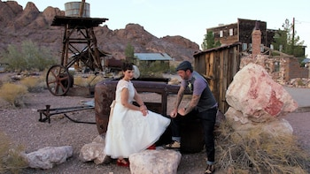 Nelson Ghost Town Wedding Ceremony