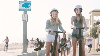 Visite de Santa Monica et Venice Beach en Segway
