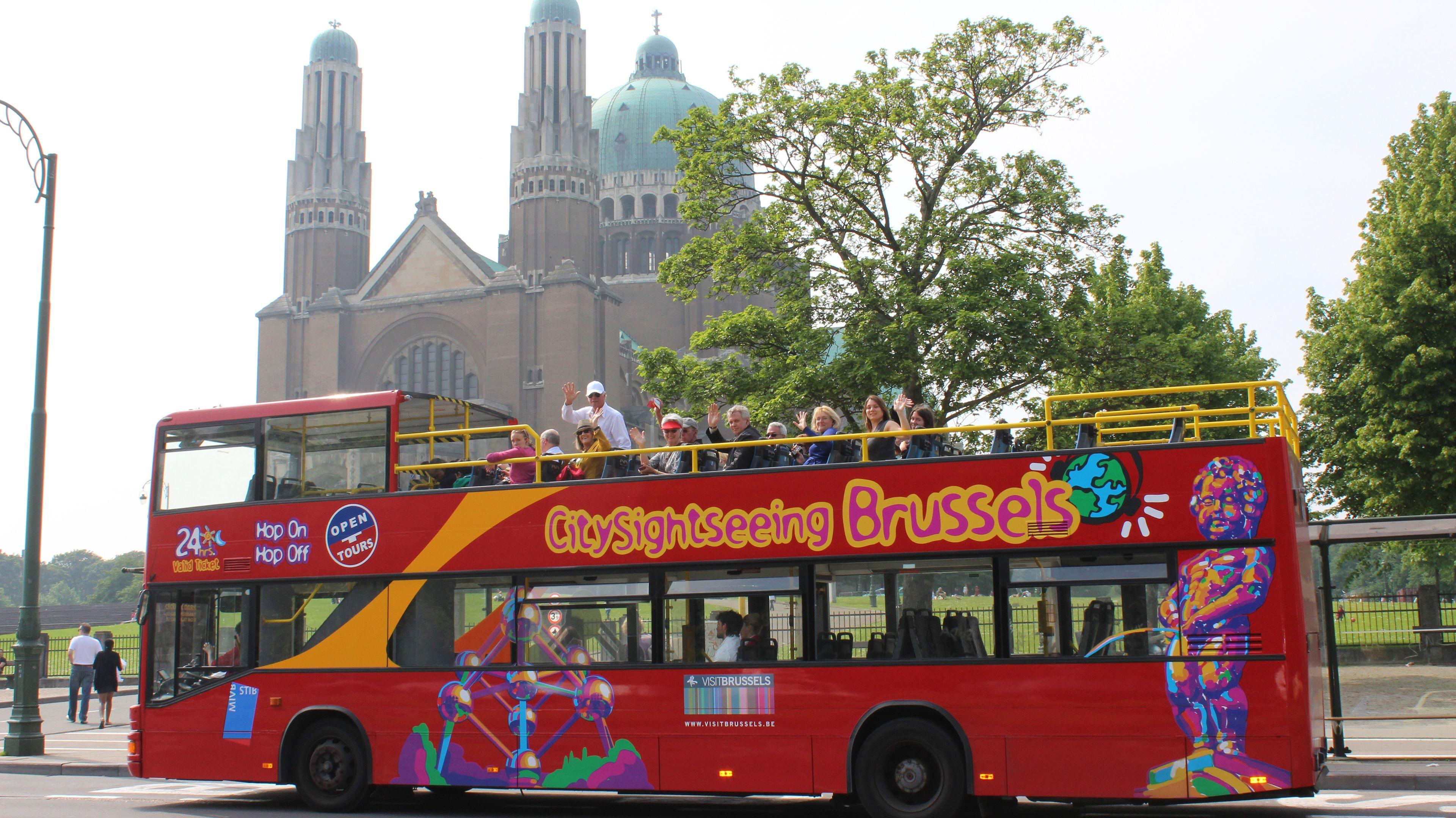 Excursion à terre : visite de Bruxelles en bus à arrêts multiples