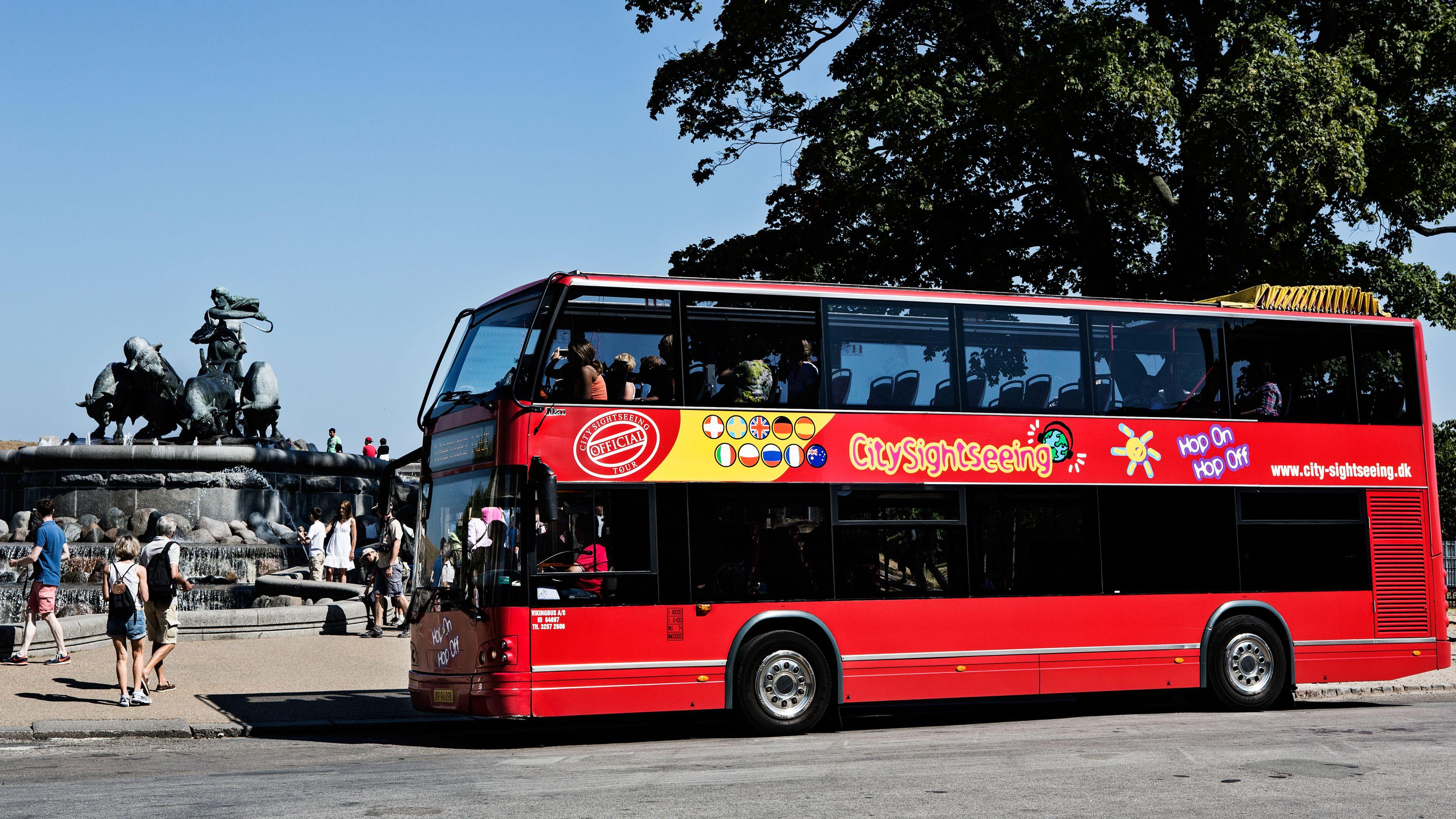 Kustutflykt: Busstur med hop-on/hop-off i Köpenhamn