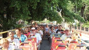 """Excursão pela costa: passeio de ônibus """"hop-on/hop-off"""" em Málaga"""