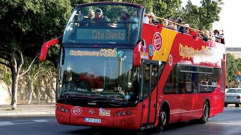 Hop on Hop Off bus tour of Malta