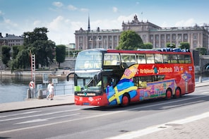 Walexcursie: hop-on, hop-off-bustour door Stockholm