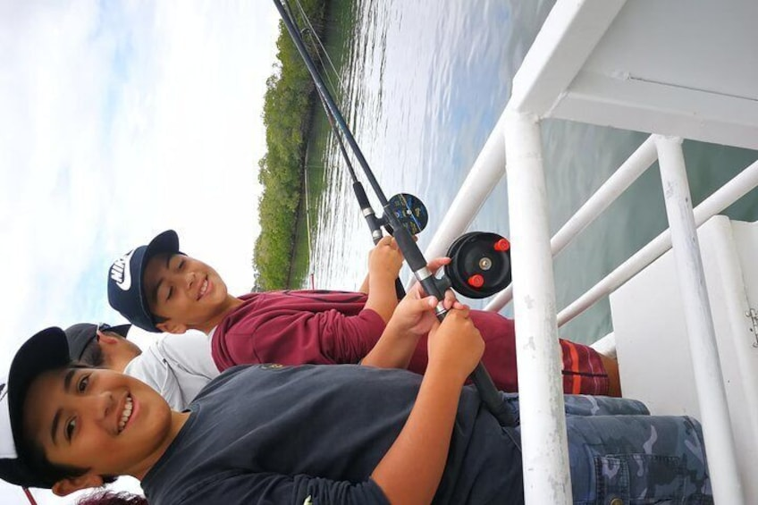 Bring the family along for the fishing adventure. And let the competition begin, for the biggest fish!