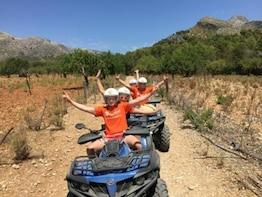 Adventure Quad Tour of South Mallorca from Santa Ponsa