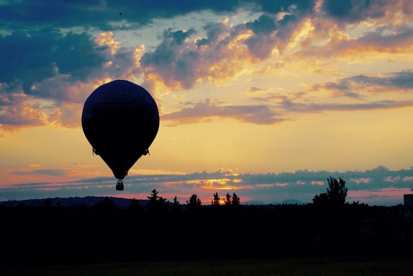 Sunset Hot Air Balloon Ride with Cava