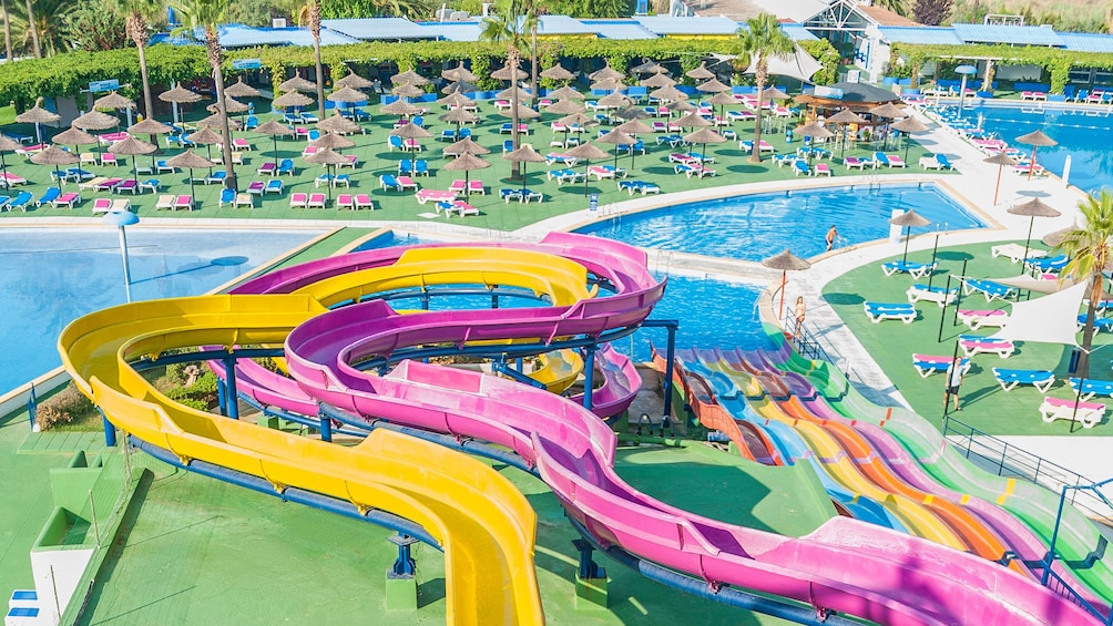 Water slides at hidropark alcudia