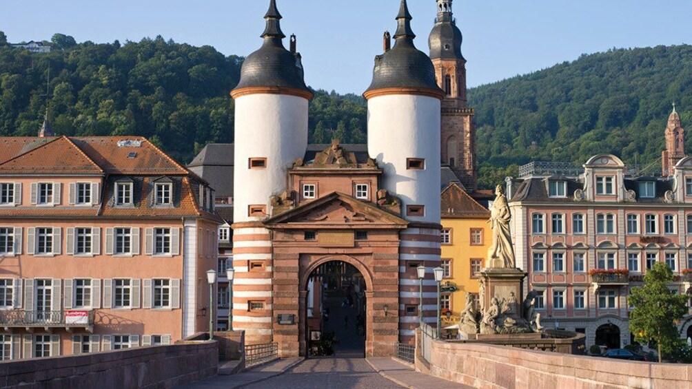 old bridge gate in Germany