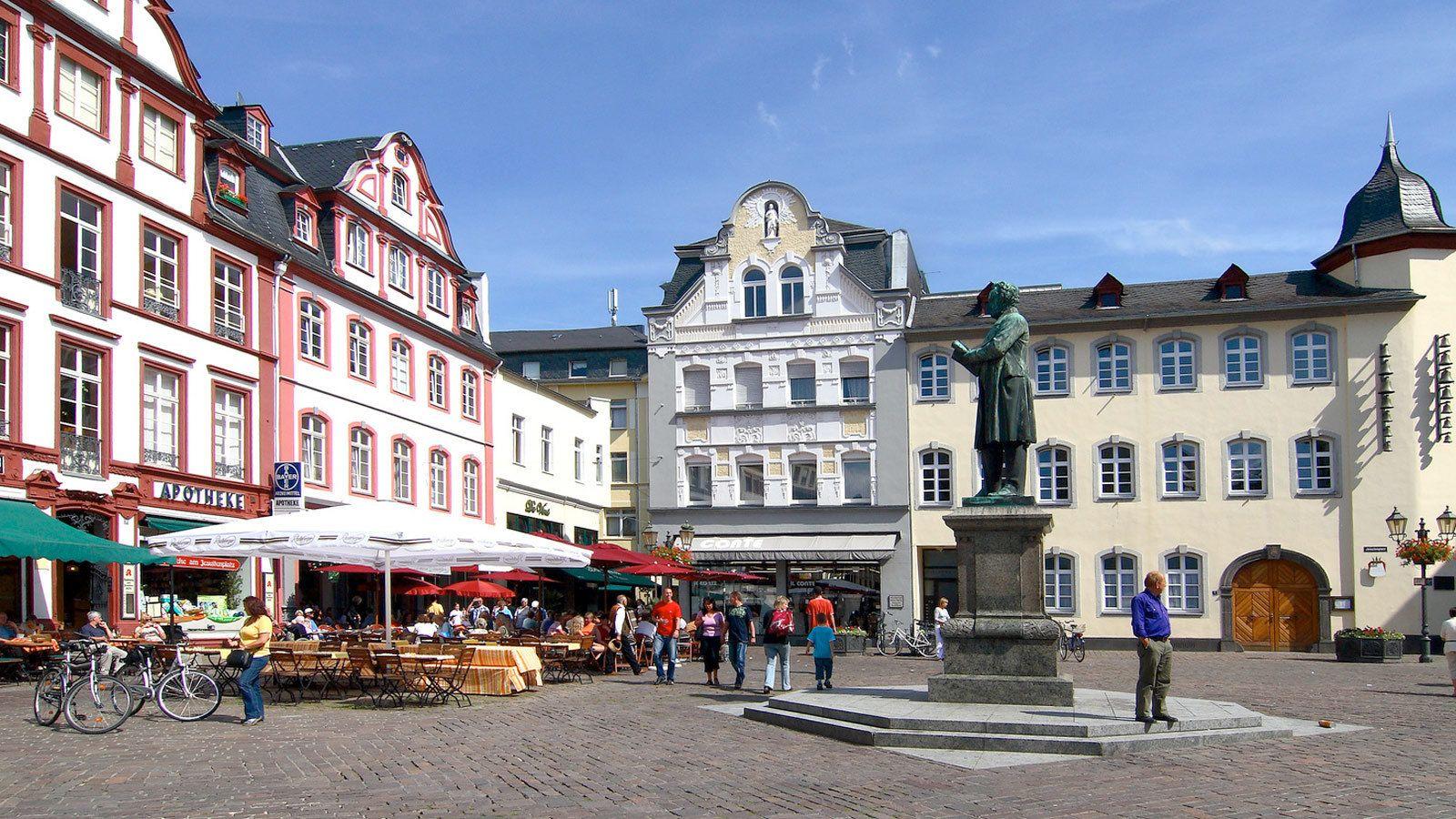 Plaza in Germany