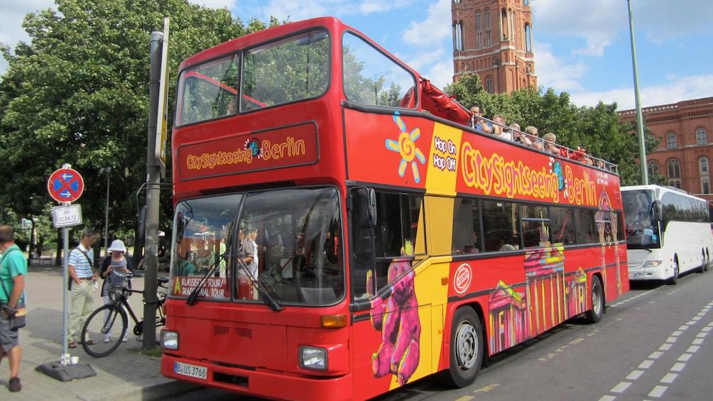 Hop-on hop-off bus in Berlin