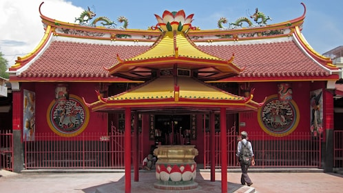 red temple building