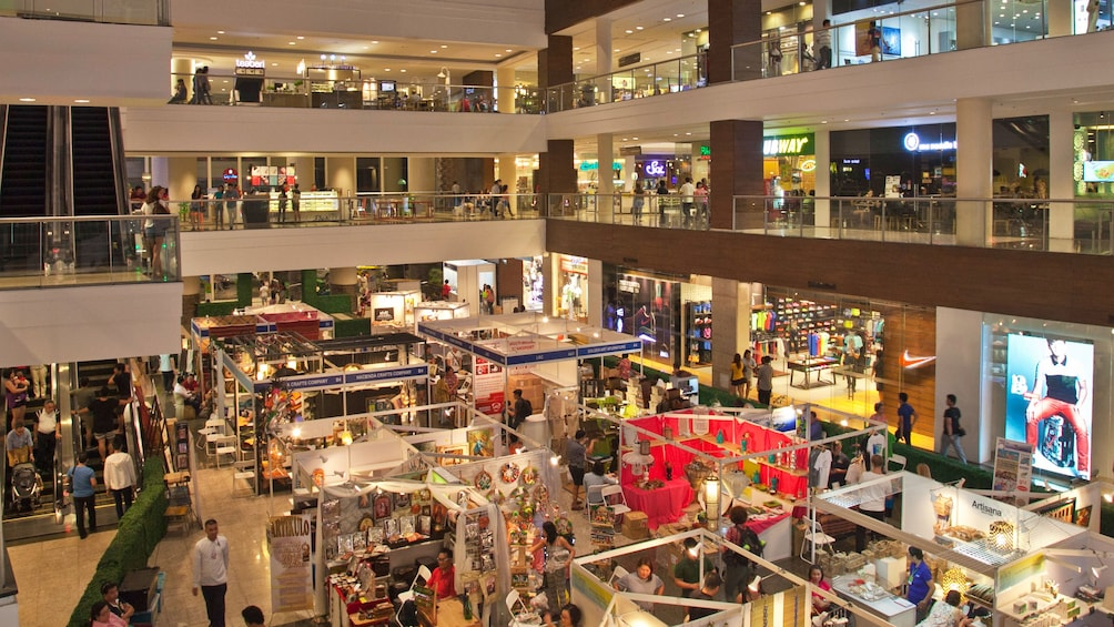 Show item 5 of 5. interior of mall in manila