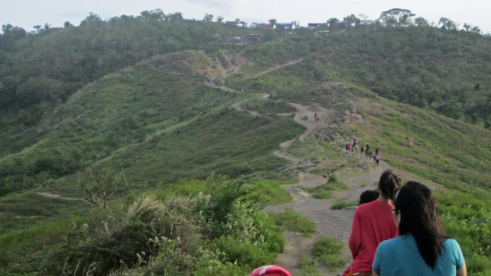 Show item 5 of 5. hiking trail in manila