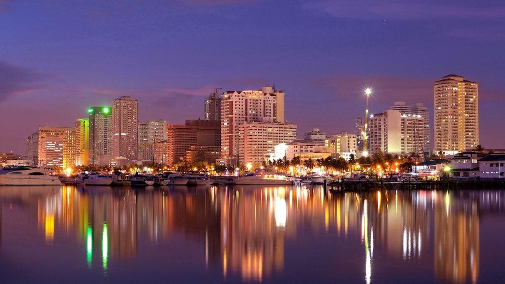 Show item 4 of 5. Manila skyline