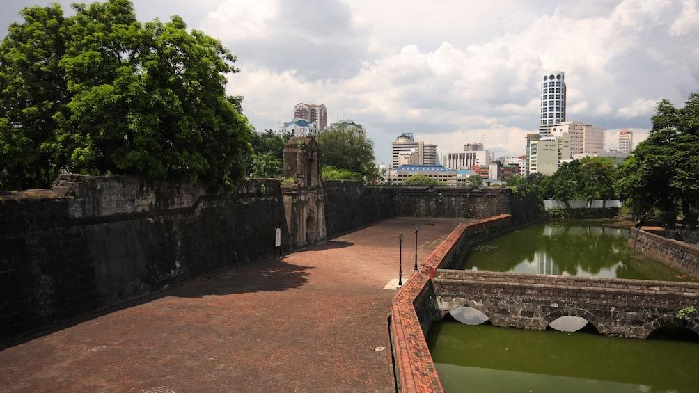 Show item 1 of 5. Park and Skyline of Manila