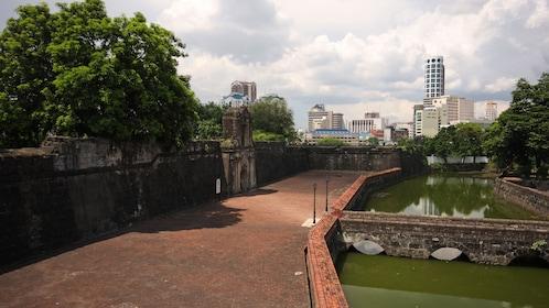 Park and Skyline of Manila