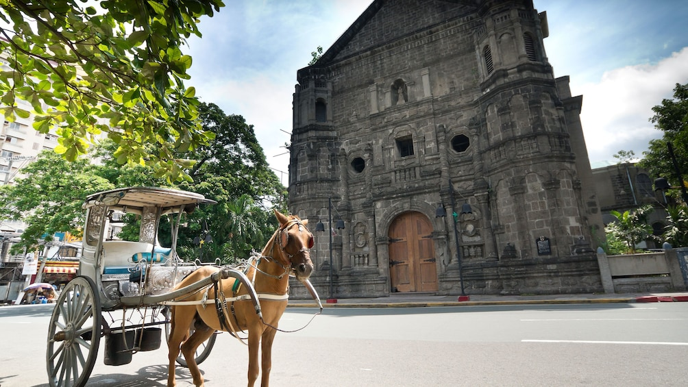 Show item 1 of 6. Horse cart in Old Manila
