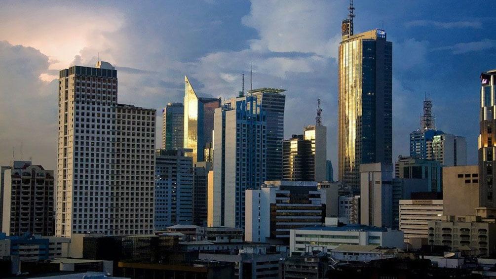 Show item 3 of 6. skyline of Manila